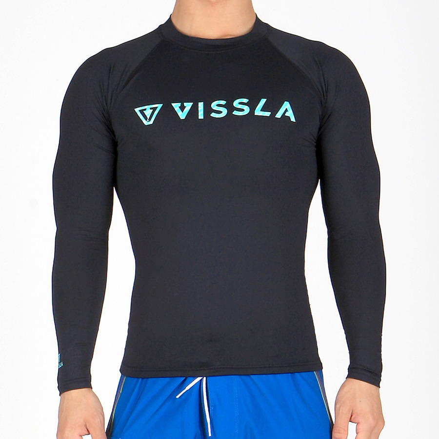 HELL SWELLS RASH GUARD - BLK
