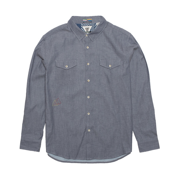 WOODSIDE TWILL DARK DENIM