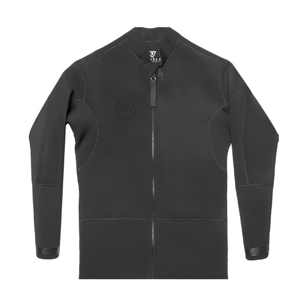 2MM FRONT ZIP JACKET STEALTH