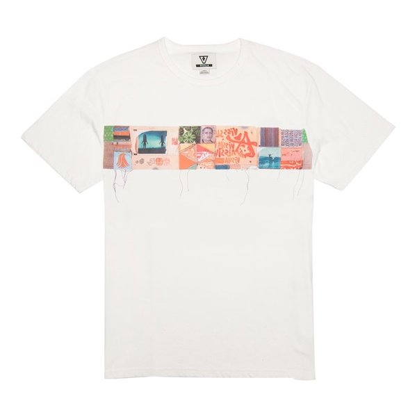 QUILTAGE SS TEE-WHT
